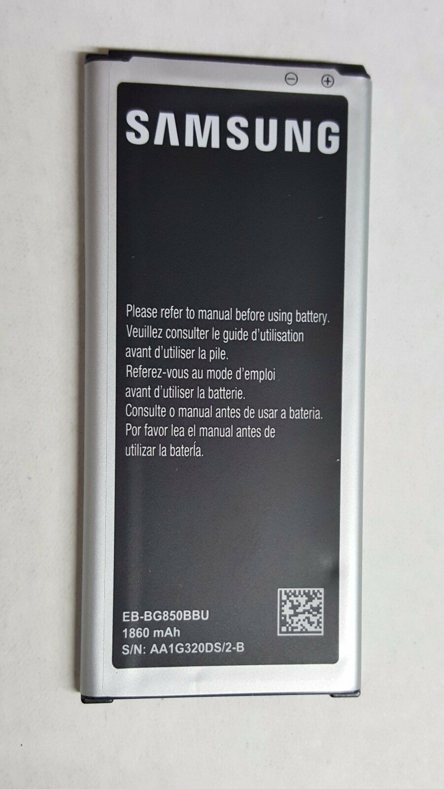 Primary image for OEM Original Samsung Battery Galaxy Alpha SM-G850 EB-BG850BBU 1860mAh