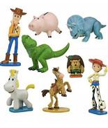 Disney Pixar Toy Story Heroes 8 Piece PVC Figurine Set Woody, Jessie, Rex, Hamm - $19.79