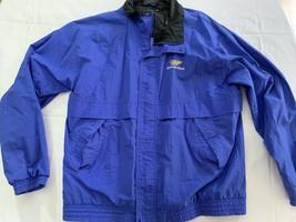 MGD MILLER GENUINE DRAFT TEAM JACKET Coat vtg 90s 00s Blue Mens XL - $19.00