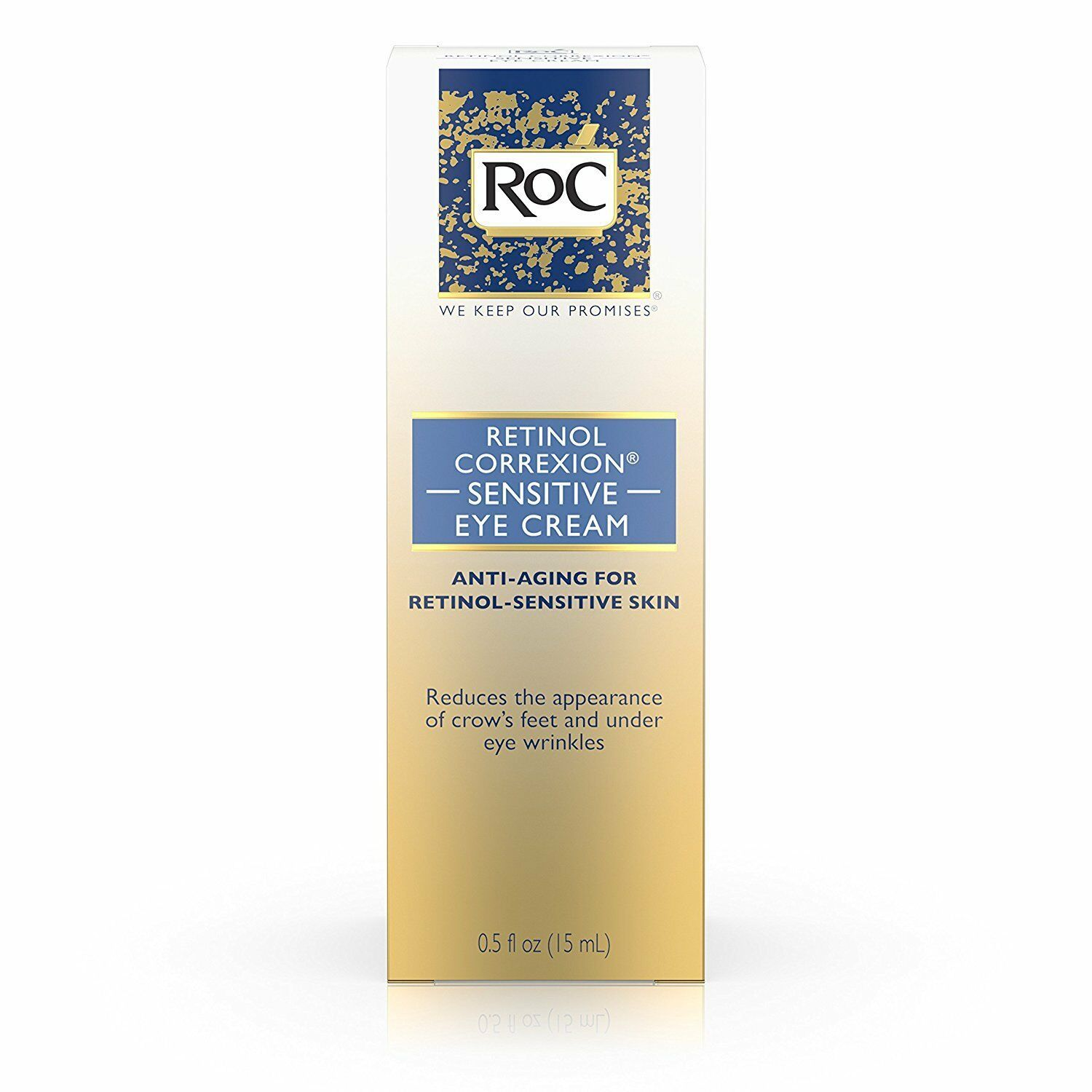 Primary image for RoC Retinol Correxion Sensitive Eye Cream, 0.5 Ounce