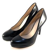 Nine West Kristal Black Stiletto Platform Pumps Choose Sz/Material - $55.20