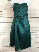 Women's Davids Bridal Sz 8 Emerald Green Bridesmaid/Formal/Homecoming Dr... - $37.40