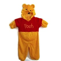 Disney Baby Winnie the Pooh Costume 12 Months Hooded One-Piece Pretend Play - $15.00