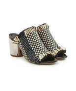 New w/ Box & tags Proenza Schouler Women's Woven Mirror Heel Mules 37.5 ... - $550.00