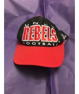 VIntage UNLV REBELS Football SNAPBACK HAT  BALL CAP - $13.20