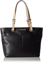 MICHAEL Michael Kors Bedford Pocket Tote Black ... - $202.78