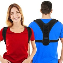 Comezy Back Posture Corrector for Women & Men - Powerful Magic Stickers Adjustab image 1