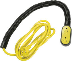 Quirky Prop Power Pro Wrap Around 9-Foot Extension Cord (3 plugs) with flexi image 3