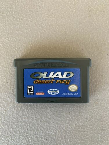 Primary image for Quad Desert Fury (Nintendo Game Boy Advance, 2003)