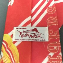 San Francisco 49ers Ralph Marlin Neck Tie NFL Football 1990 image 4