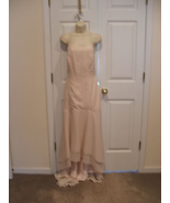 new alfred angelo $275 PALE Pink bridesmaid Stage Formal Occasion Gown s... - $89.09