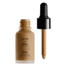 NYX Total Control Drop Foundation TCDF17 Cappuccino - $11.87