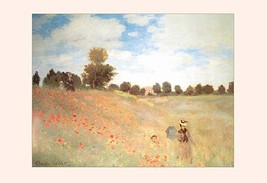 Les Coquelicots by Claude Monet - Art Print - $19.99+