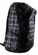 MOJO Flannel and Fleece Plaid Book Bag School Backpack image 2