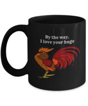 Gift Mug For Him, I Love Your Huge C**k, 11oz Black Ceramic Coffee Tea Cup - £13.35 GBP