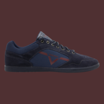 DIESEL S-Aarrow Mens Casual Shoes Blue Iris Cordovan R Size 12 New Authe... - $93.49