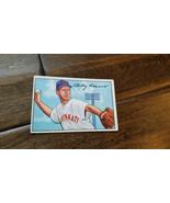 1952 BOWMAN BASEBALL CARD BOBBY ADAMS CINCINNATI REDS CUBS WHITE SOX ORI... - $7.99