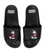 Mickey Mouse Sandal Slides Black - $19.98