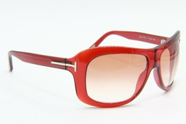 New Tom Ford Tf 63 211 Tatiana Red Gradient Authentic Sunglasses 59-15 - $163.63