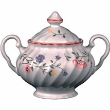 SUMMER CHINTZ COVERED SUGAR BOWL JOHNSON BROTHERS NEW - $44.54