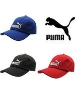 Puma Cap Original Baseball Mens Knitted Hat Genuine New Black 6 Panel  - $24.71