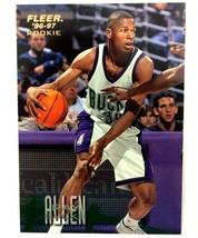 Ray Allen Rookie Card 1996-97 Fleer #212 NBA HOF Milwaukee Bucks  - $2.92