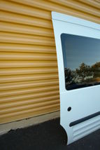2010-13 Ford Transit Connect Rear Sliding Door W/ Glass Right Side RH image 5