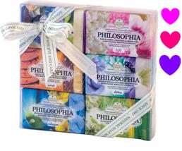 NESTI DANTE PHILOSOPHIA Italian Beauty Bar Soap Collection GIFT BOX 6 x ... - $32.94