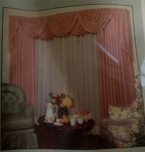 "Brand New In Package Moonglow Sheer 60"" By 63"" Curtain Panel, Cameo - $19.79"