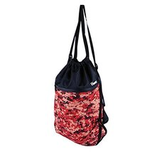 George Jimmy Fashion Train Bag Red Basketball Football Storage Exercise Gym Bag - $25.45