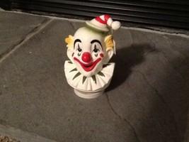 Rotating 1979 Schmid Clown Head Music Box Send In The Clowns - $28.04