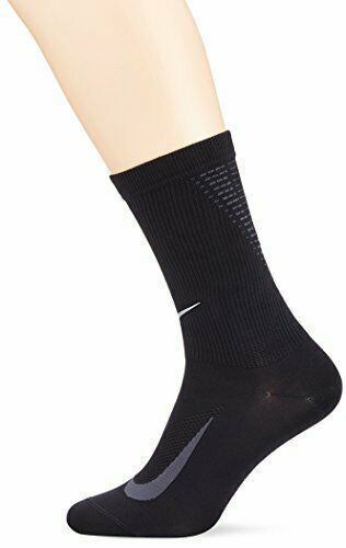 Primary image for Nike Unisex Dry Elite Crew Run Socks Black Small SX5192-010