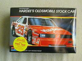 FACTORY SEALED Monogram Cale Yarborough's Hardee's Oldsmobile Stock Car ... - $22.76