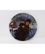 """Knowles """"A Christmas Courtship 1982"""" Collectible Plate - Rockwell - $16.14"""