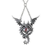 Eye of the Dragon Necklace by Alchemy Gothic P832 - $54.40