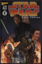 Dave Dorman SIGNED Star Wars Dark Empire Wizard Ace Edition Acetate Cove... - $14.84