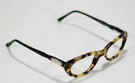 Fossil Unisex MADISON Tortoise Shell Black Plastic Eyeglass Frames Rx Eyewear - $9.12