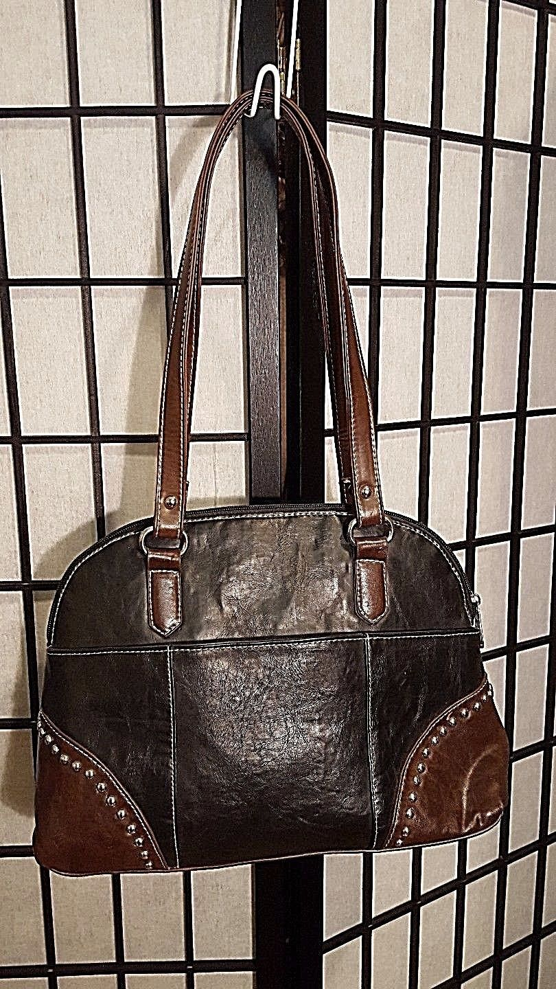 Vintage Country Road Leather Purse W/Studded General Lee Dukes Of Hazard Flag image 5