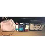 Lot of 3 Used Vintage KATE SPADE Handbags / Pink, Multicolor, & Brown NO... - $399.00