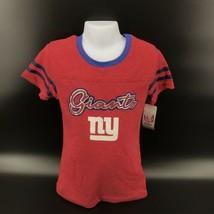 New York Giants Girls T Shirt NFL Team Apparel Size Youth L (10/12) - NEW -AK - $14.99