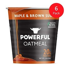 Powerful Instant Oatmeal Cup, High Protein, Whole Grain, Kosher, Natural Ingredi - $30.92