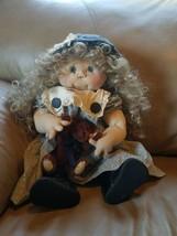 "Jan Shackelford Dolls ""Hayley"" 1996 Signed by Artist Collectors Handmade... - $98.99"