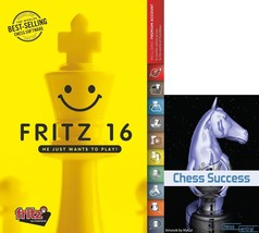 Fritz 16 Chess Playing Software Game Program Bundled with Chess Success ... - $94.32