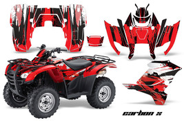 ATV Graphics Kit Decal Sticker Wrap For Honda Rancher AT 2007-2013 CARBO... - $168.25