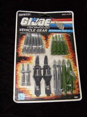 G.I. Joe Vehicle Gear Accessory Pack 1986 New Hasbro GI Joe