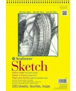 Sketch Book Drawing Pad Paper 11 x 14 Spiral Notebook 100 Sheets Artist ... - $14.74