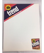 Vintage Trend Laundry Detergent Letterhead Paper Advertising Ad Stationary - $23.51