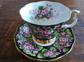 Royal Albert Mayflower Chintz Teacup And Saucer Provincial Series - $18.70