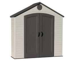 Lifetime Sheds 8x2.5 Plastic Storage Shed Kit w/ Floor (6413) - $742.23
