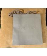 NEW Alexander McQueen Small Shopping Gift Bag Designer 11 x 10.5 Gray  - $6.92